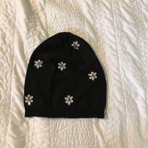 Betsey Johnson Crystal Hat